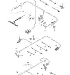 audi q7 2016 2017 wiring harness for seat belt warning systemaudi q7 wiring  [ 2491 x 3523 Pixel ]