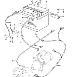porsche 924 1976 1979 battery starter generator for wiring porsche 924 starter wiring porsche [ 1661 x 2650 Pixel ]
