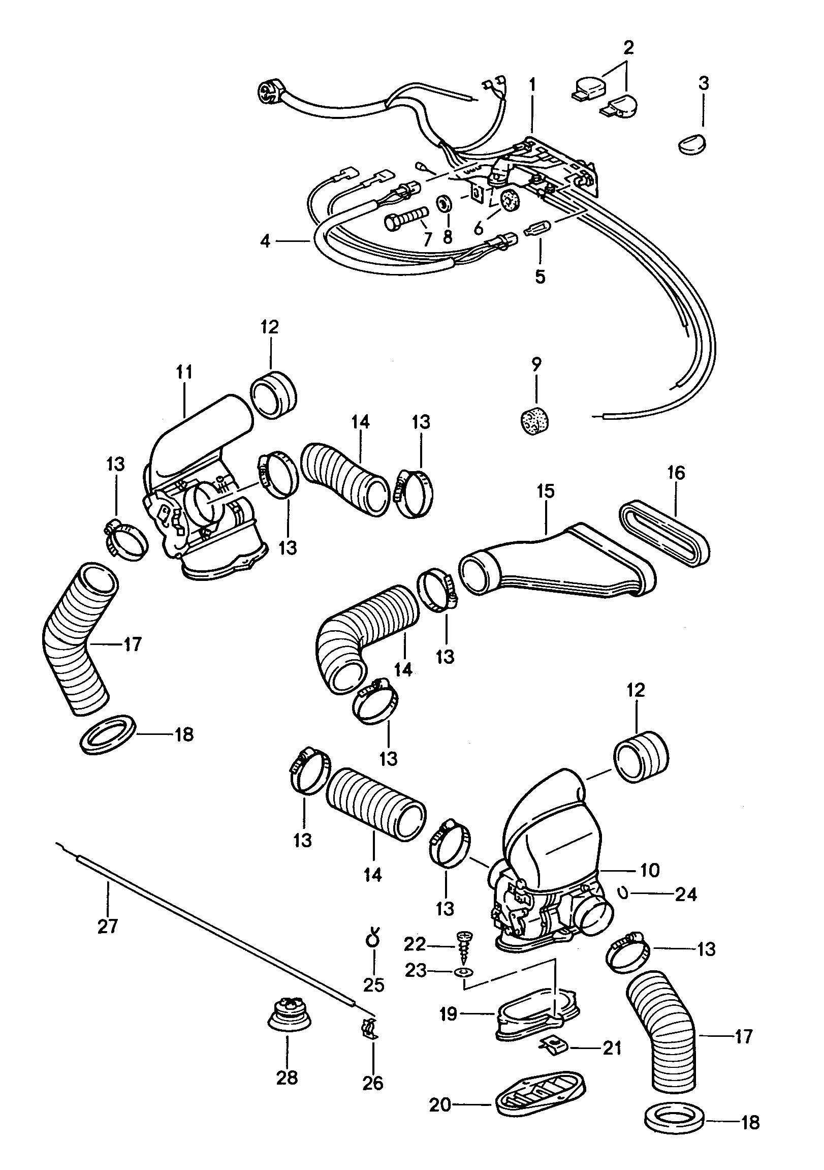 hight resolution of porsche 911 parking light diagram wiring diagram paper porsche 911 1987 1989 ventilation heating