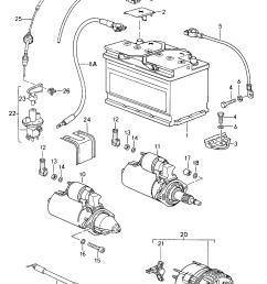 porsche 911 carrera 1994 1998 battery starter generator porsche generator wiring [ 1624 x 2312 Pixel ]