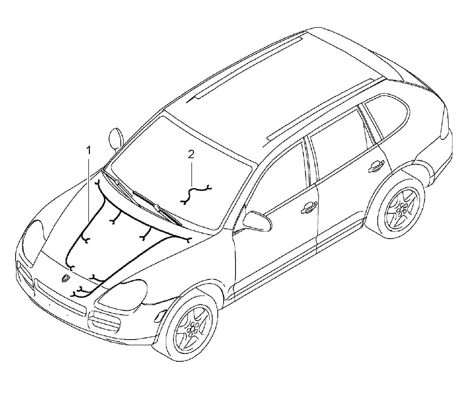 Porsche cayenne 2003 2006 porsche pet