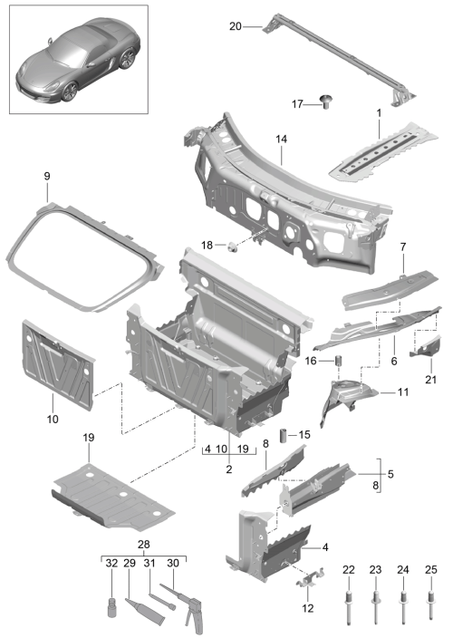 small resolution of porsche boxster 2012 2016 porsche pet