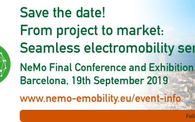 Save the date: NeMo Final Conference and Exhibition, Barcelona, Thursday 19 September 2019