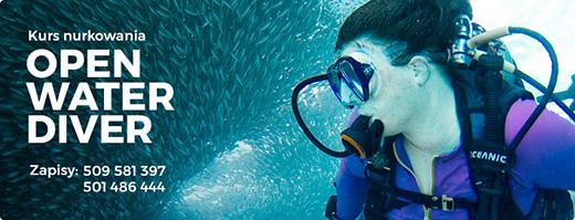 Kurs nurkowania dla początkujących Open Water Diver PADI