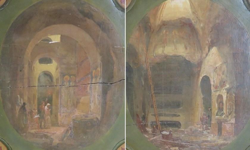 Catacombs near S. Sebastiano