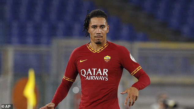 ROMA PLAYER CHRIS SMALLING HELD BY ARMED ROBBERS IN ROME HOME