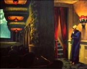 | New York Movie, 1939, by Edward Hopper |