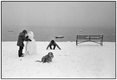 Christmas in Wales, by Dennis Stock
