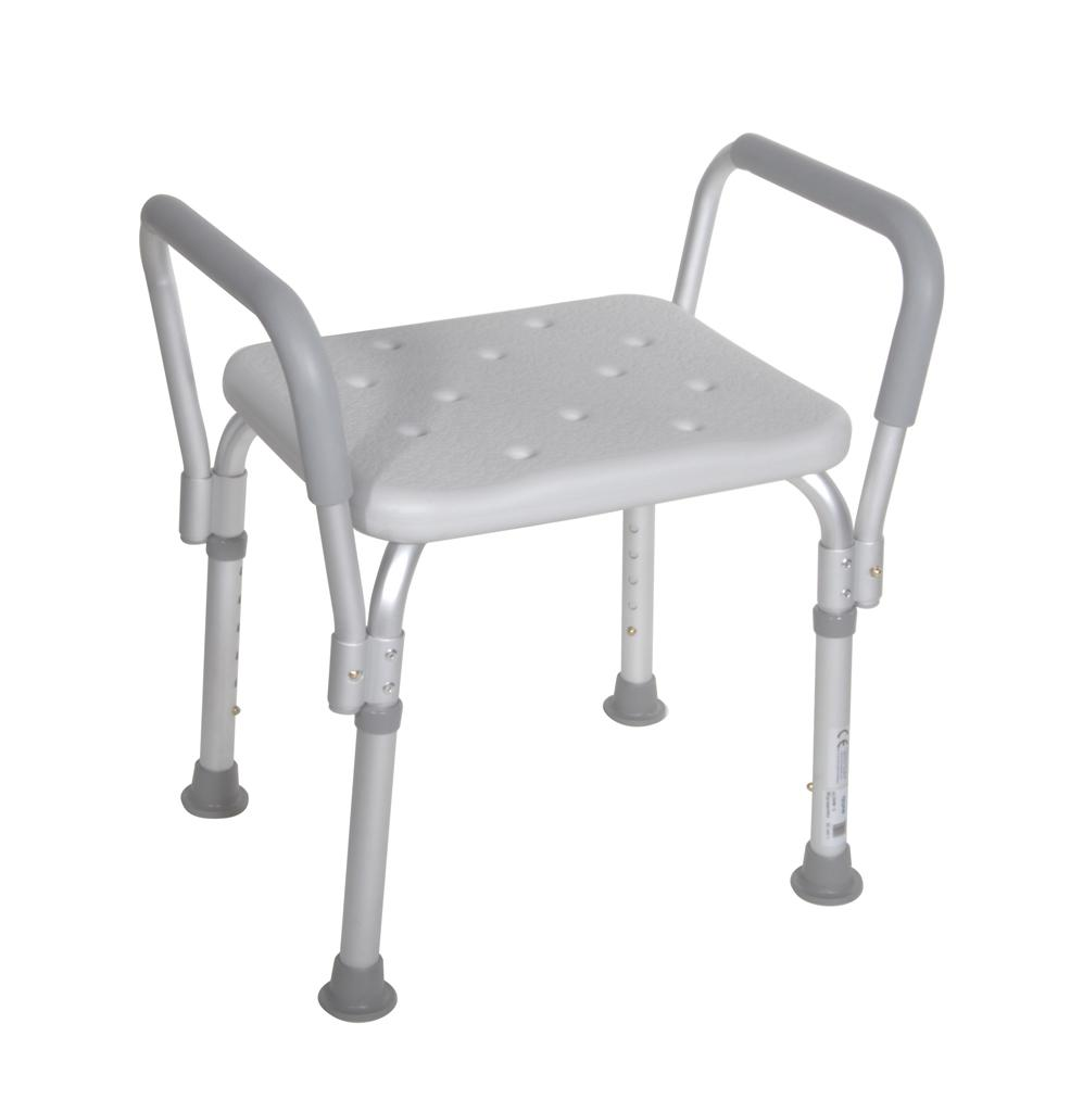 Shower Chair with Padded Arms  Northeast Mobility Center