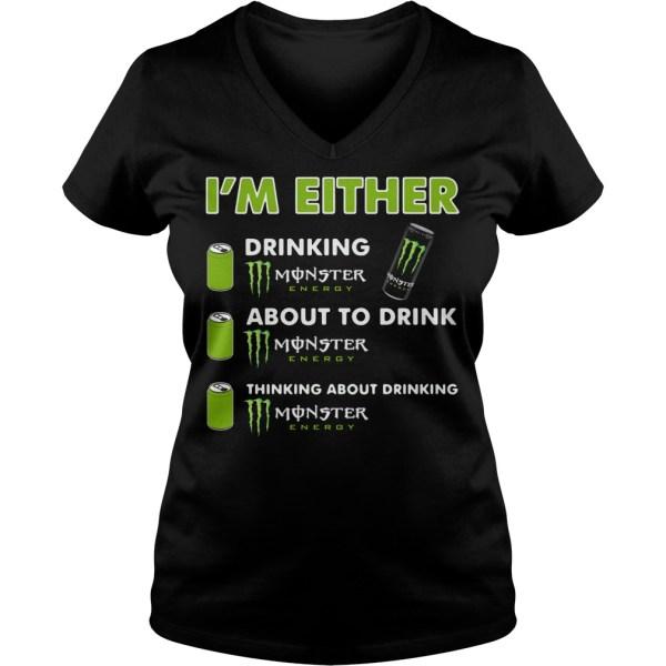 ' Drinking Monster Energy Shirt Hoodie Sweater