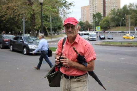 Витя Коган, волонтер Немцова моста