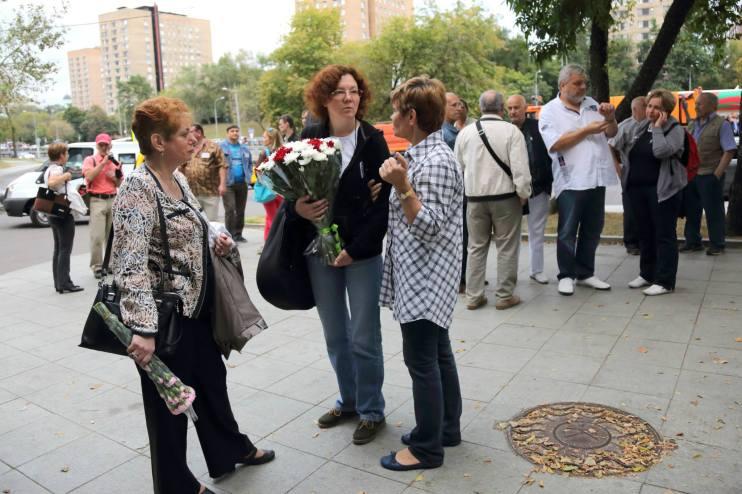 Оля Лехтонен, волонтер, Алена Голубева - летописец