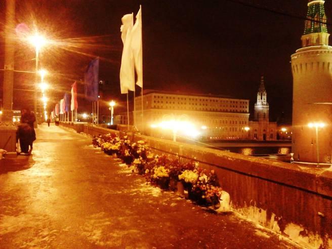 23.02.2016. Немцов Мост. Мемориал