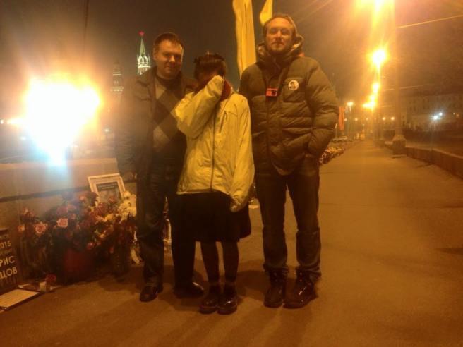 Слева направо: Дмитрий, Эля, Павел