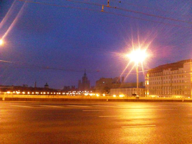 Немцов мост. Вид с Моста