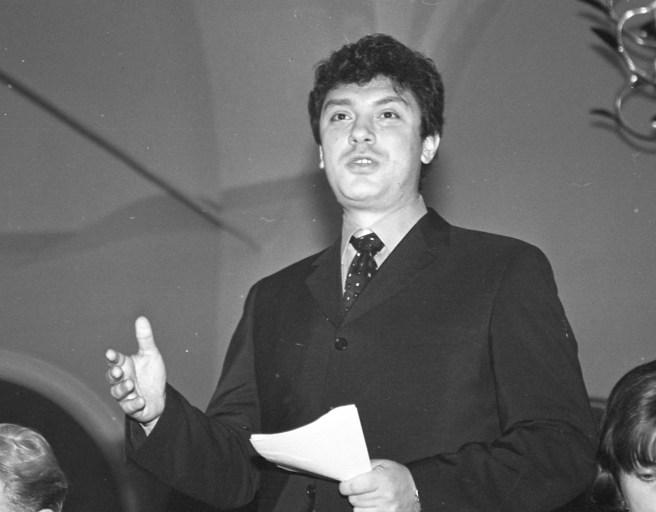 1999 год, февраль. Борис Немцов. / Фото Сергея Белякова.