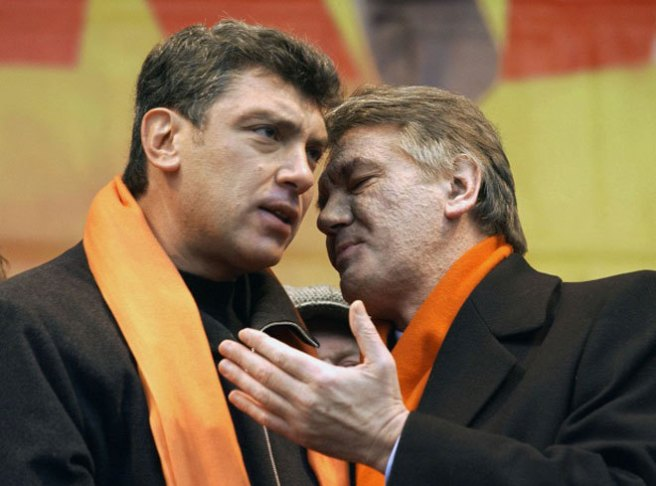 «Ющенко — человек европейский, с безусловно демократическими убеждениями, но в то же время нерешительный, сомневающийся...». Киев, Майдан, 2004 г.