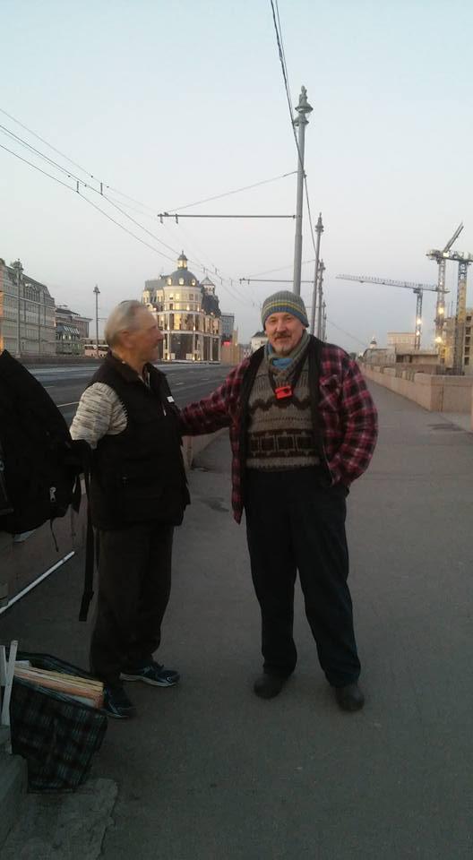 Ночные: Сергей Иванович Шевченко и Михаил Михайлович Силич.