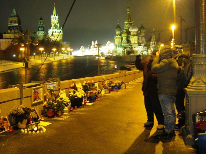 14.11.2016. Немцов мост. Мемориал