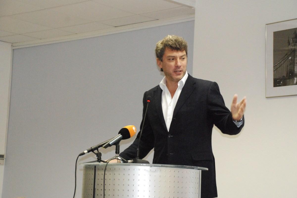 на московской конференции движения «Солидарность». 23 ноября 2008 года