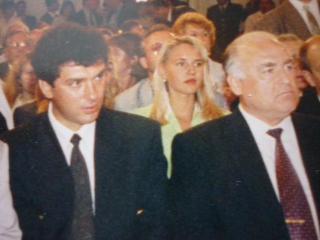 С премьер-министром Черномырдиным