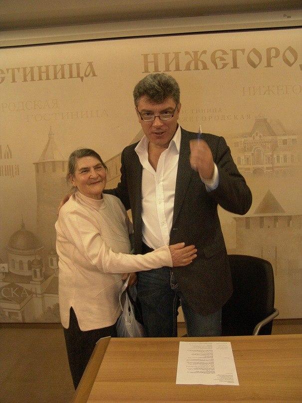Борис Немцов Dina-yakovl-boris-nemtsov-nn-1