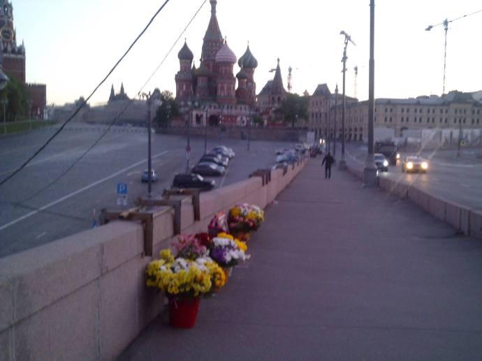 27.05.2017. Дежурство на Мосту Немцова