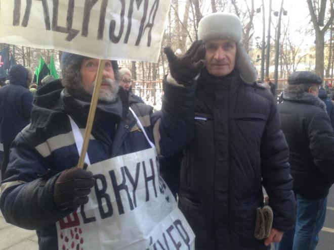 Григорий Саксонов и Виктор Шпилько. Фотографии — Тамара Луговых