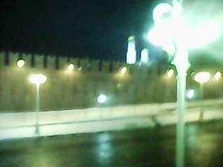 14.03.2018 Дежурство на Мосту Немцова Холодная ветреная ночь