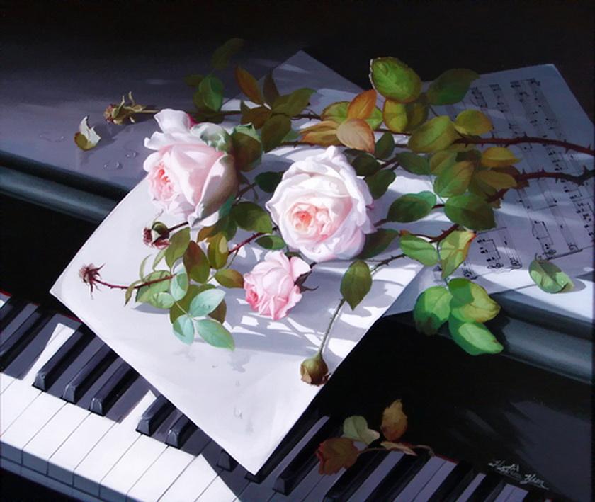 Картинки, открытка пианистке с днем рождения