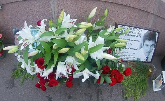 23.06.2018 Дежурство на Мосту Немцова. Мемориал