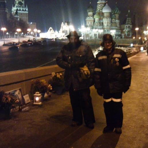 21.12.2018 Дежурство на мосту Немцова Тимофей и Григорий