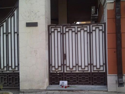 27.04.2019 Утреннее дежурство на Мосту Немцова Дом Немцова