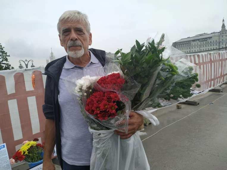 Цветы на ваши пожертвования, друзья. Фотографии — Тамара