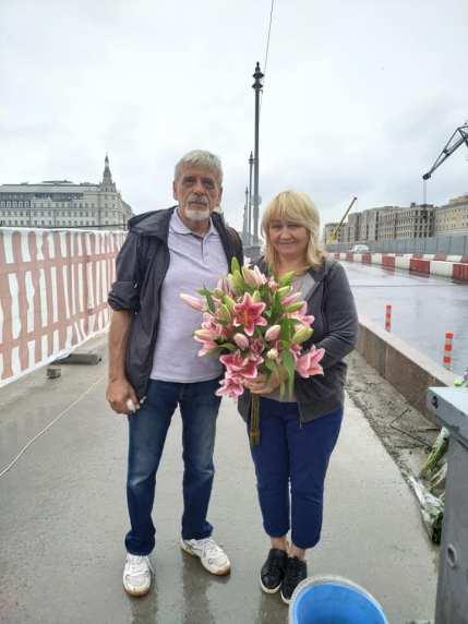 Цветы от нас с Борисом Фотографии — Тамара