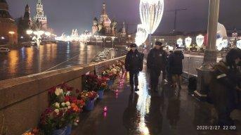 27.02.2020 5 лет со дня убийства Б.Е.Немцова Мемориал и полиция