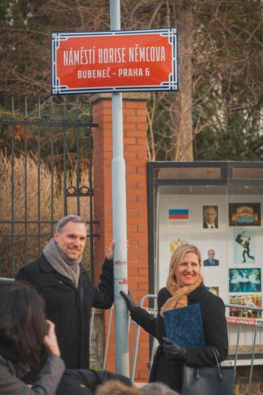 4.Praha má ode dneška nové náměstí Borise Němcova (1)