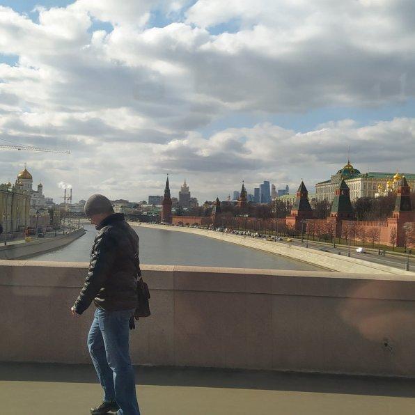 23.03.2020 Дневное дежурство на Мосту Немцова
