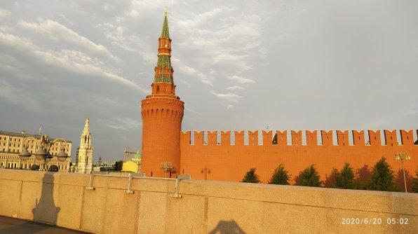 20.06.2020 Немцов мост. На рассвете