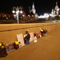 Пост N1 в России в полночь