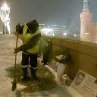 Только успевай убирать снег