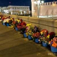 И снова ночь обработки цветов