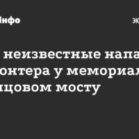 Ночью неизвестные напали на волонтера на Немцовом мосту