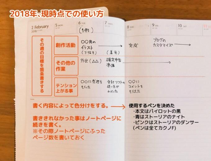 週間ノート使用例3