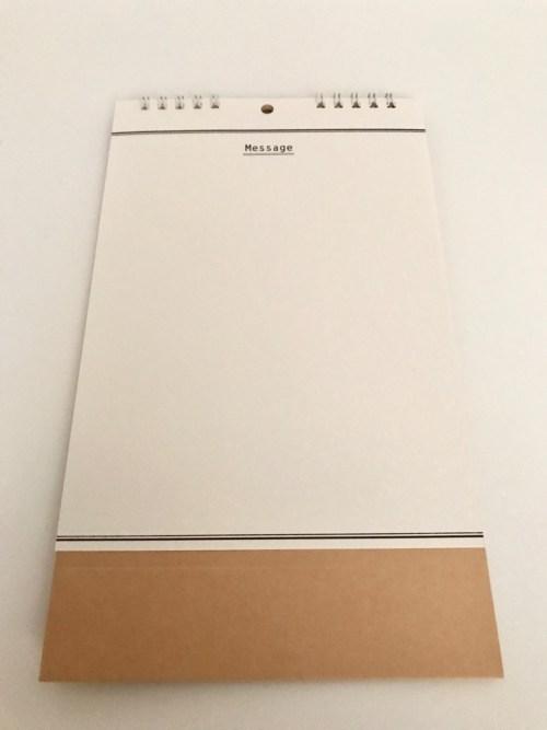 ダイソーの手作りカレンダー