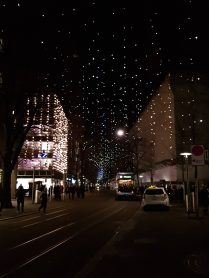 Beautiful lights that made it look as there's hundreds of stars in the sky