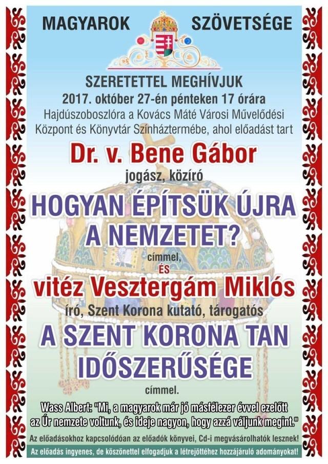 Meghívó Hajdúszoboszlóra 2017