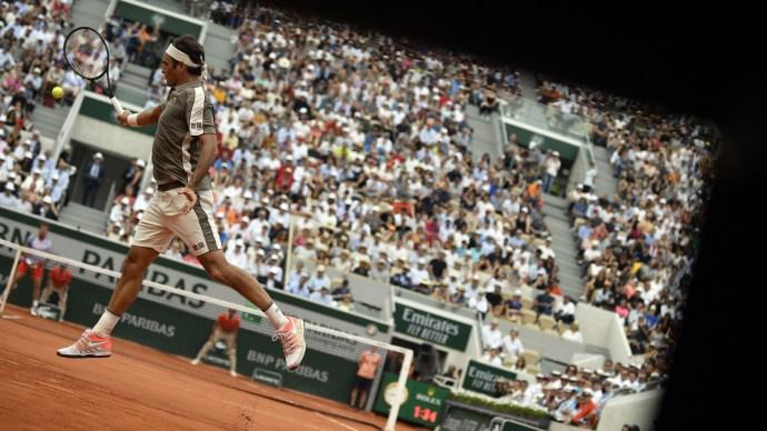 Federer csak egy salakost vállal be