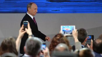Putyin évértékelője: Gyors kilábalást ígér, bírálja a Nyugatot és Kijevet okolja az ukrán válságért