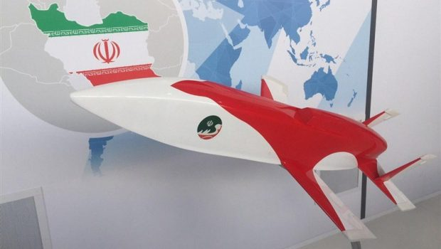 Irán új cirkáló rakétát mutat be egy orosz légi bemutatón